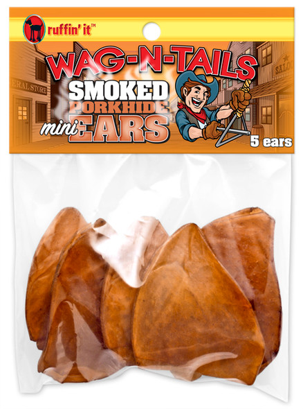 Wag-N-Tails Pig Ears For Dogs - 5 pk