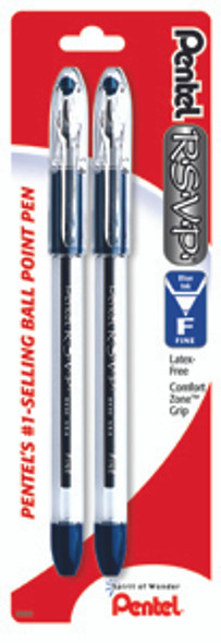RSVP Ball Point Pen - Blue, Fine