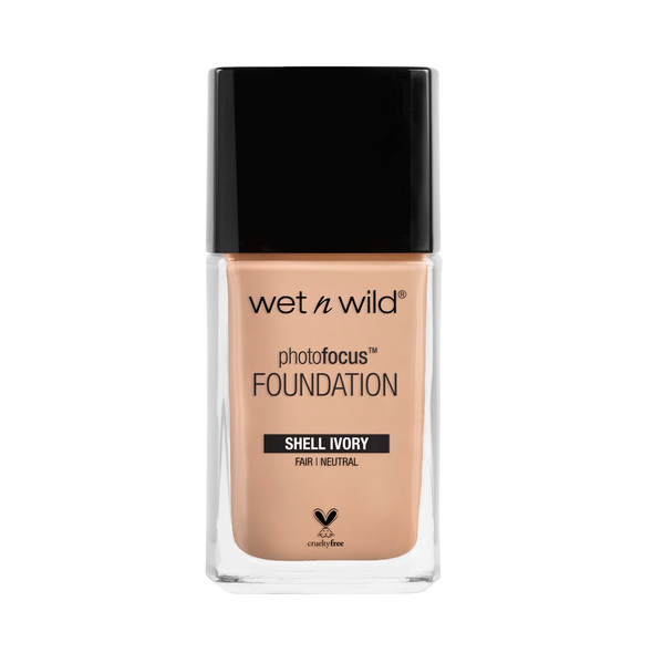 WNW Photo Focus Liquid Foundation - Shell Ivory