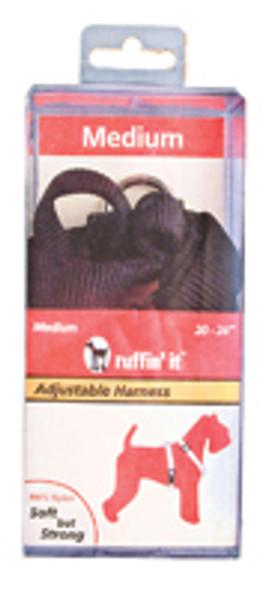 "Adjustable Nylon Dog Harness - Asst, 20-28"""