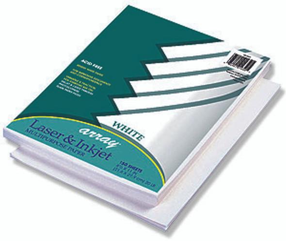 "Ink Jet Computer Paper - White, 8.5x11"""