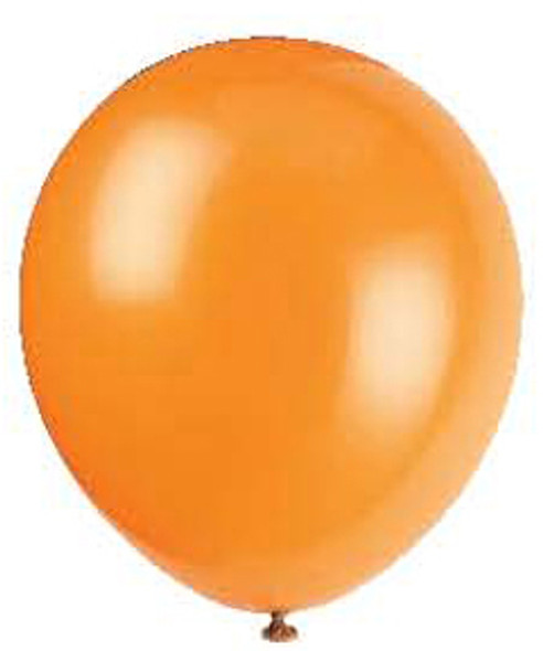 "12"" Balloon - Pumpkin Orange, 12"""