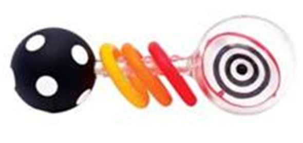 Spin Shine Rattle Infant Toy