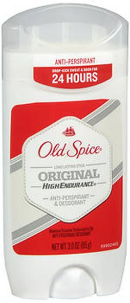 Old Spice High Endurance Anti-Perspirant & Deodorant Stick Original - 3 oz