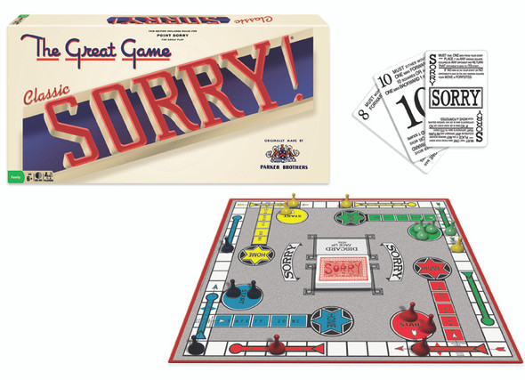 Classic Edition Sorry Game