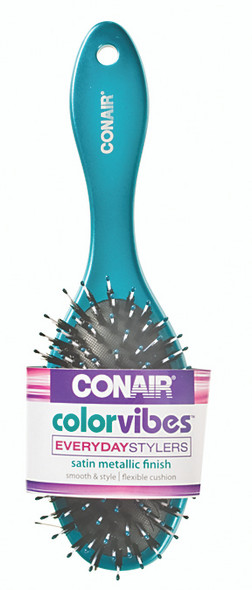 Conair Color Vibe Porcupine Cushion Hair Brush - Assorted, 1 ct