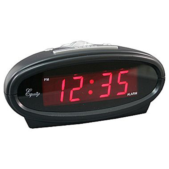 LED Alarm Clock - Black