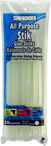 "Glue Sticks - 10"", Regular  20 ct"