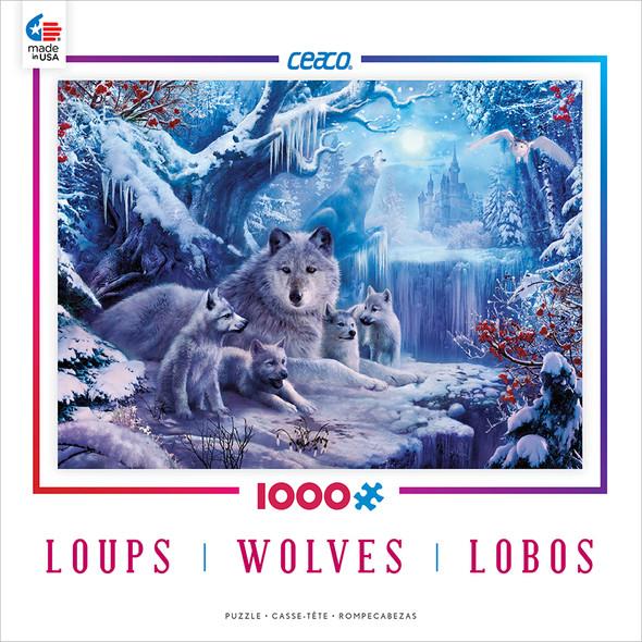 Wolves Puzzle - 1000pc, Asst