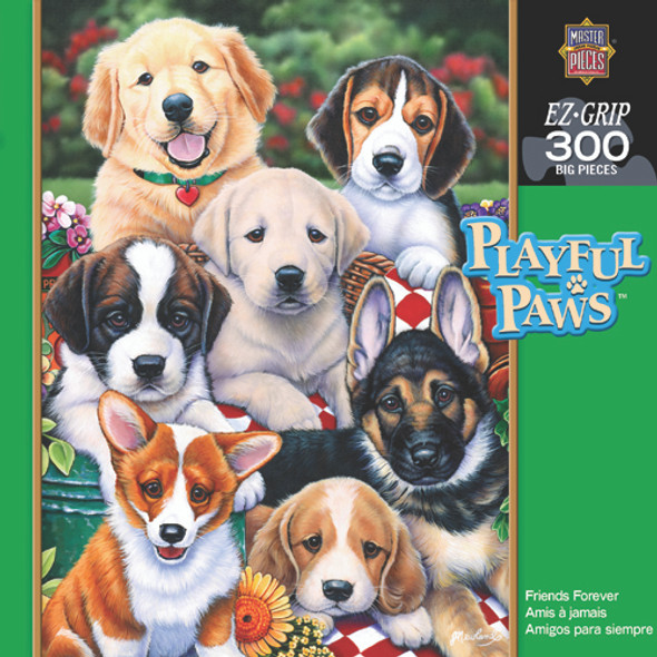 Playful Paws Puzzle Assortment - 300 pc