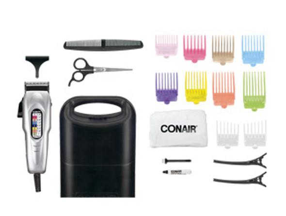 Conair Number Cut Haircut Kit - Silver, 20 pc