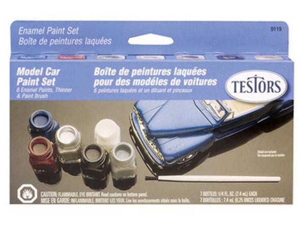 Model Car Enamel Paint Kit