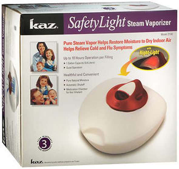 Kaz Safety Light Steam Vaporizer 2100 White