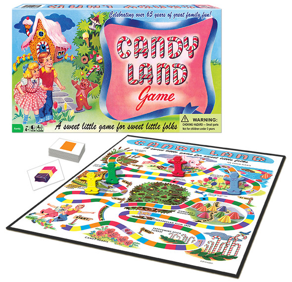 Classic Edition Candyland Game 65th Anniversary