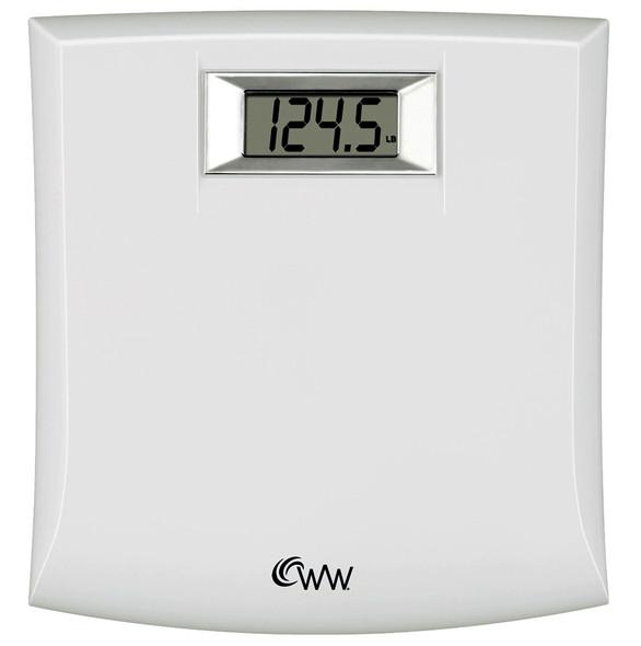 WW Compact Precision Electronic Scale - White