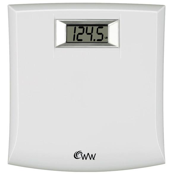 WW Compact Precision Electronic Scale - White