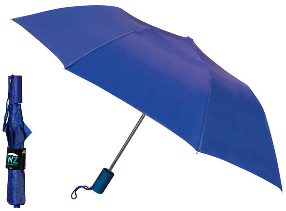 Folding Auto Weather Zone Promo Umbrella - Assorted, 38""