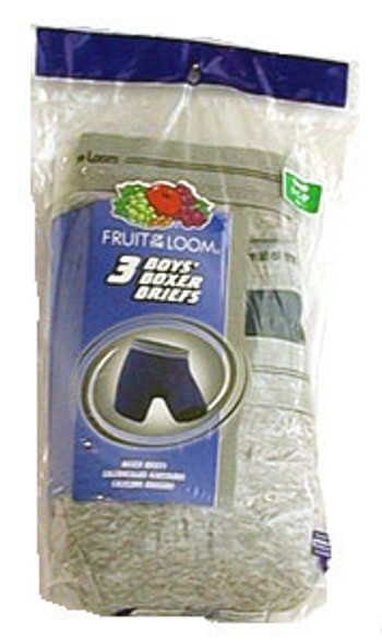 Boy's Assorted Boxer Briefs 3-Pack - Assorted, Large