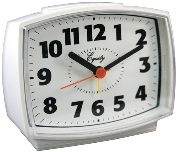 Equity Electric Analog Alarm Clock