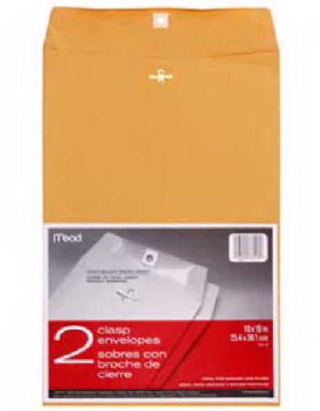 """Clasp Envelope - 10 x 15"""", Kraft Brown"""