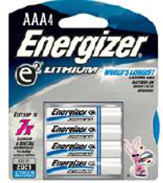 Energizer E2 Lithium Batteries  AAA - 4 pk