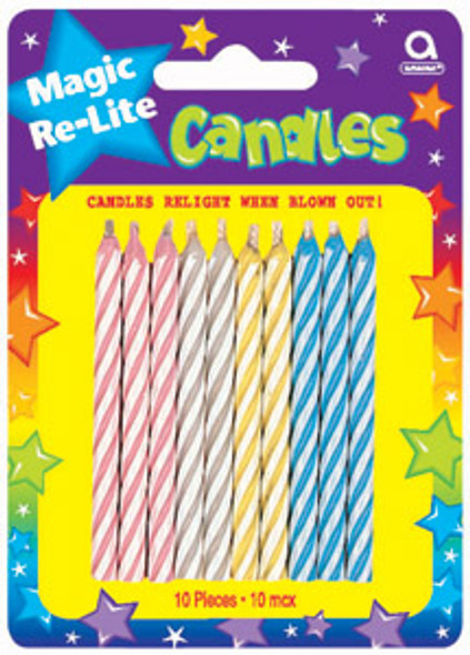 Magic Relite Candles - Asst, 2.5""