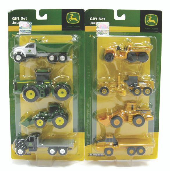 John Deere Vehicle Set - Asst, 4 pc