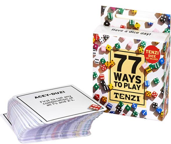 77 Ways to Play Tenzi Game