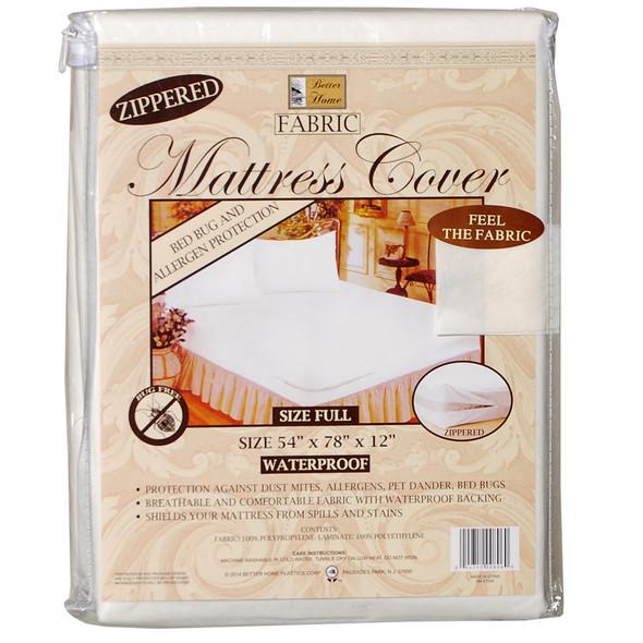 Fabric Mattress Cover Full - Full