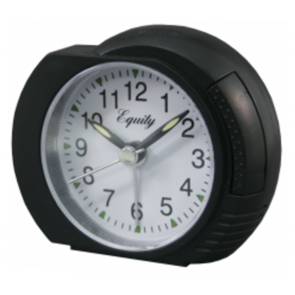 Analog Alarm Clock - Black