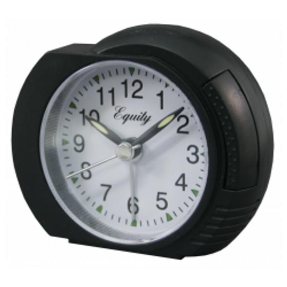 Analog Alarm Clock - Black