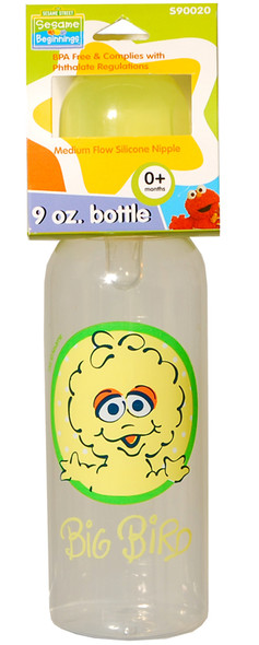 Sesame Street Bottle - Asst, 9 oz