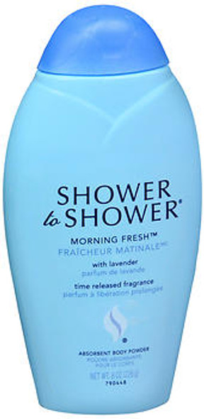 Shower to Shower Absorbent Body Powder Morning Fresh - 8 oz