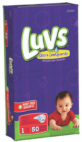 Luvs Convenience Pack Diapers 48ct - Size 1 (48 ct), 8-14 lb