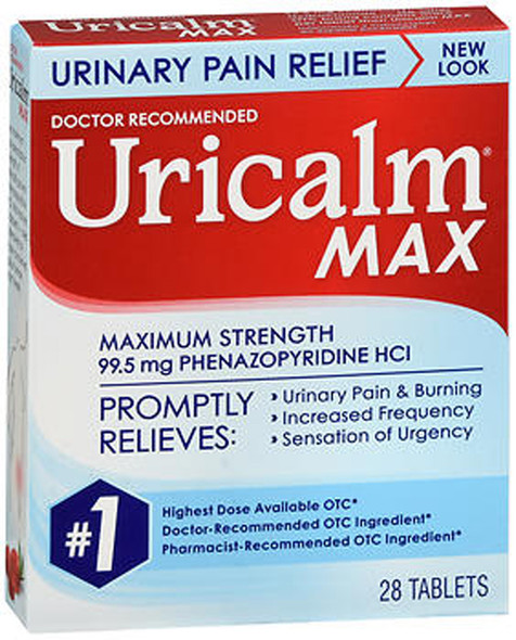 Uricalm Max Tablets Maximum Strength - 24 ct