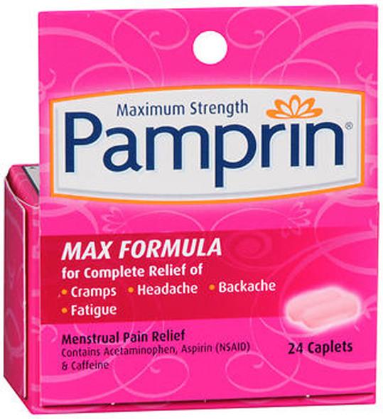 Pamprin Caplets Max Formula - 24ct