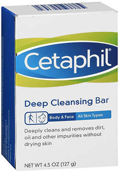 Cetaphil Deep Cleansing Bar - 4.5oz