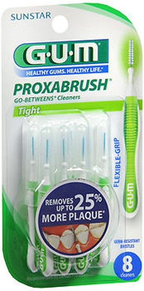 GUM Proxabrush Go-Betweens Cleaners Tight - 8ct