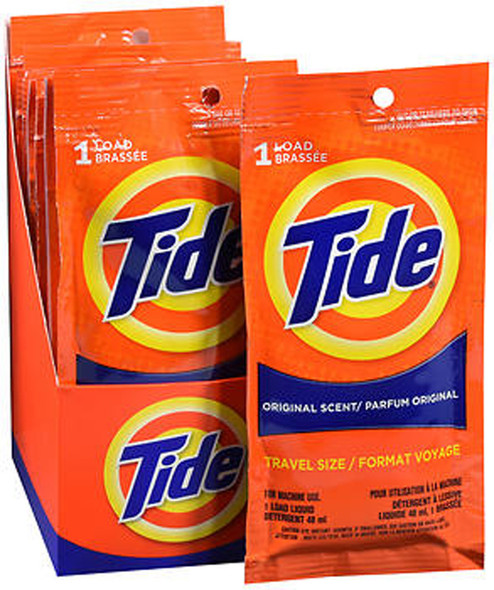Tide Original Scent, Travel Size - 24 ct