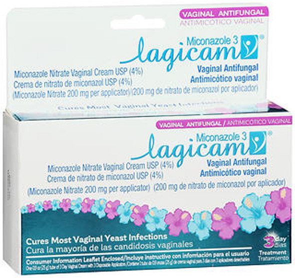 Lagicam Miconazole Nitrate Vaginal Cream - .9 oz