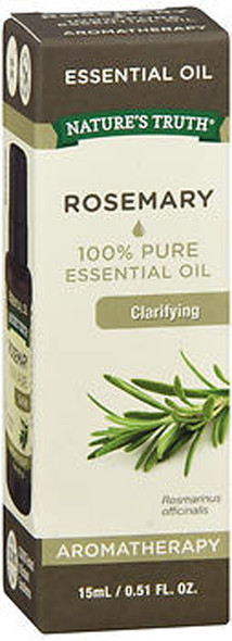 Nature's Truth Aromatherapy 100% Pure Essential Oil Rosemary - .5 oz