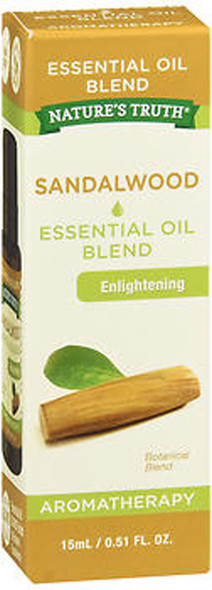 Nature's Truth Aromatherapy Essential Oil Blend Sandalwood - .5 oz