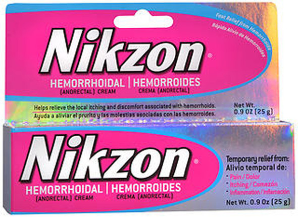 Nikzon Hemorrhoidal Cream - .9 oz