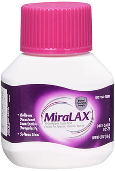 Miralax Powder 7 Doses - 4.1 oz