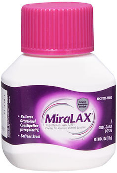 Miralax Powder 7 Doses - 4.1 oz