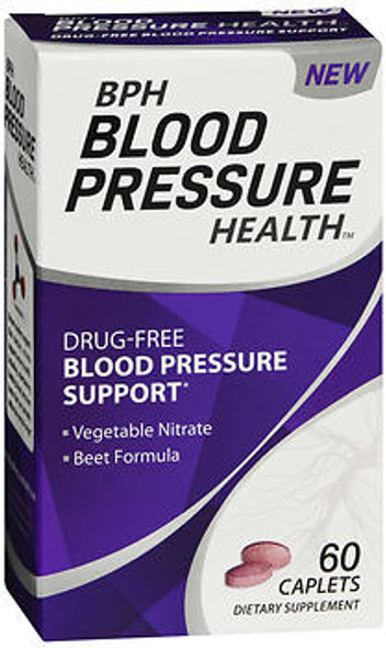 BPH Blood Pressure Health Caplets - 60 ct