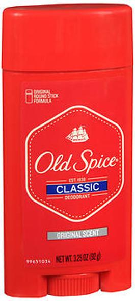 Old Spice Classic Deodorant Stick Original Scent - 3.25 oz