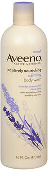Aveeno Active Naturals Positively Nourishing Calming Body Wash - 16 oz