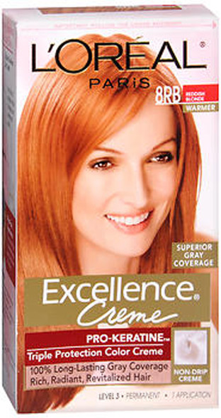 L'Oreal Excellence Creme - 8RB Medium Reddish Blonde (Warmer)