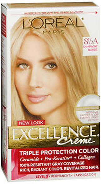 L'Oreal Excellence Creme 8-1/2A Champagne Blonde